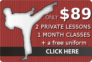 One Month Special - Crestwood Martial Arts